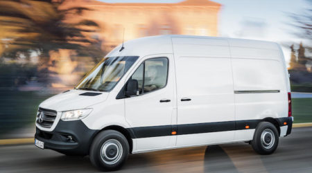 mercedes benz new sprinter